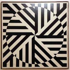 Rakuko Naito, & # Untitled & # 1964 Museum of Contemporary Art in Buenos Aires Sourc Abstract Geometric Art, Illusion Art, Museum Of Contemporary Art, Art Graphique, Art Plastique, Fractal Art, Optical Illusions, Design Art, Pop Art