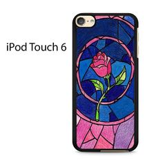 Beauty and The Beast Rose Ipod Touch 6 Case