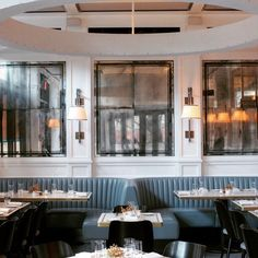 Designer Steven Gambrel puts his sophisticated stamp on a new, health-conscious West Village eatery.