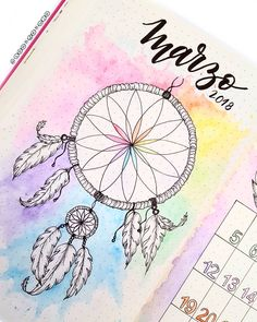 dream catcher bullet journal inspiration Thinking about creating something more BoHo for your bullet journal? These Dream Catcher Bullet Journal ideas will take it to the next level! Bullet Journal Tracker, Bullet Journal School, Doodle Bullet Journal, Bullet Journal Writing, Bullet Journal Aesthetic, Bullet Journal Spread, Bullet Journal Layout, Bullet Journal Inspiration, Journal Ideas