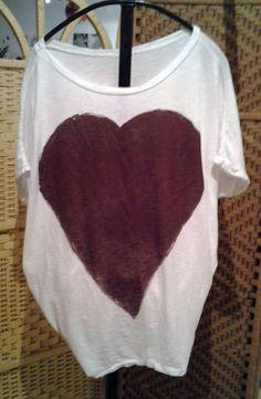 maglia con cuore