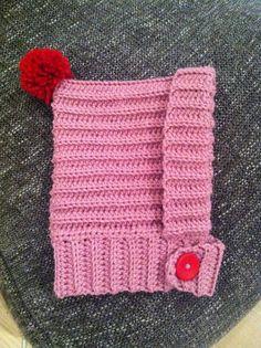Bonnet Balaclava Crochet Pattern - NO PATTERN, but looks easy enough