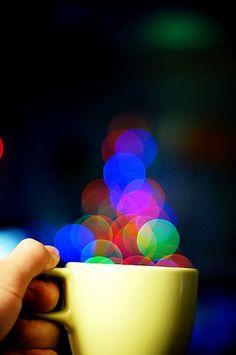 A Cup of Bokeh, please por Shermeee