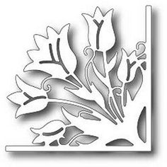 Tutti Designs- Tulip Corner Die now available at The Rubber Buggy Diy Projects For Adults, Diy Projects For Bedroom, Diy Home Decor Projects, Cool Diy Projects, Decor Crafts, Diy For Kids, Ideas Mancave, Diy Shadow Box, Wood Cutting