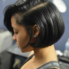 hair styles for of color stylist feature the simplicity of this bob styled 1576