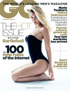 Bar Refaeli GQ Italy May 2011