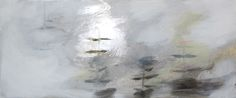 The Harbor, oil and gilded metal leaf on canvas, Riikka Soininen 2015 Winter Weather Forecast, Metallic Paint, Leaves, Oil, Abstract, Canvas, Artwork, Painting, Summary