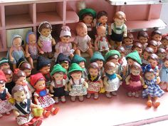 Dollhouse dolls - I had some like these when I was a child