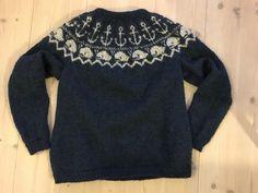 Sailor raglan sweater in Léttlopi yarn