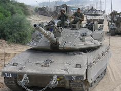 Armored Corps Operate Near the Gaza Border