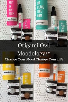 Origami Owl and Essential Oils: Moodology™ and Sentiments