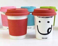 100 pcs/lot керамика кружка чаша, I am not a бумага чаша офис вода чаша, Двойной - стена полипропилен покрытие чаша