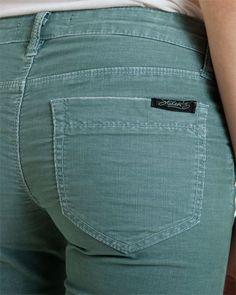 Stitch's Fox Blue Steel Corduroy short, Type 2, soft summer jc: love cords on women. love the color
