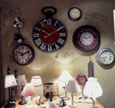 Horloges - Lampes sur pied