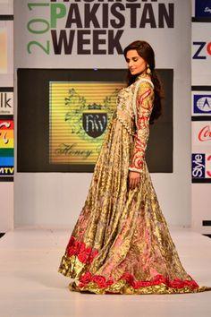 Honey Waqar at Fashion Pakistan Week 2012 Day 4
