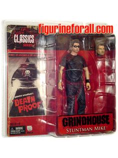 Grindhouse Action Figure | Grindhouse - Stuntman Mike 7 Inch Action Figure by NECA Toys - Reel ...