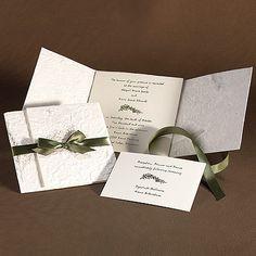 All Natural – Wedding Invitation (format)