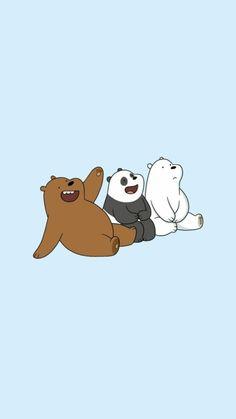 we bare bears wallpaper Cute Panda Wallpaper, Cartoon Wallpaper Iphone, Disney Phone Wallpaper, Bear Wallpaper, Kawaii Wallpaper, We Bare Bears Wallpapers, Panda Wallpapers, Cute Cartoon Wallpapers, Ice Bear We Bare Bears