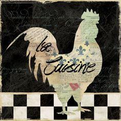 french rooster-la cuisine- Carol Robinson.-
