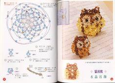 Japonesa nº 8 - Chic massenet - Веб-альбомы Picasa No 8, Crystal Beads, Crystals, Beaded Crafts, Beaded Animals, Album, Beading, Miniatures, Chic