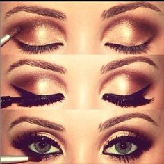 prom or pageant smokey eye http://thepageantplanet.com/category/hair-and-makeup/