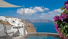 Andronis Luxury Suites (Santorini, Greece) - #Jetsetter, #JSVolcano Premier Suites come with a private balcony and indoor or outdoor Jacuzzi.