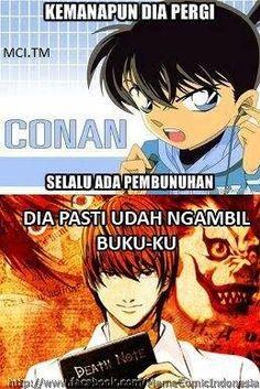 Meme Conan (Indonesian Language). Just for fun :v