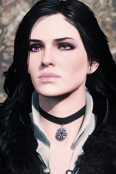 lilac and gooseberries The witcher had the most beautiful women I've ever seen in a game. Yennifer was my favorite and my obvious choice for Gerault Yennefer Of Vengerberg, Geralt Of Rivia, Ciri, Yennifer Witcher, The Witcher 3, Yennefer Cosplay, Character Inspiration, Character Art, Witcher Wallpaper