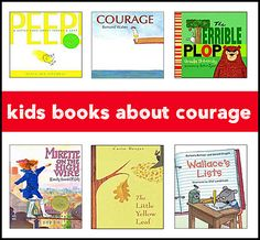 This page lists excellent children's books about courage -- perfect for teaching children this important trait.