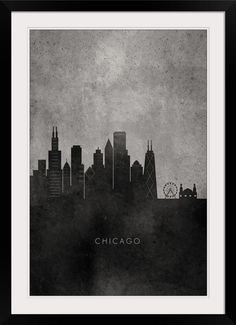 Create dramatic contrast on your walls with black and white framed prints from GreatBIGCanvas.com