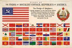 usa communist flag