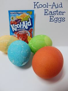 How To Dye Easter Eggs With Kool-Aid - Totally The Bomb.com