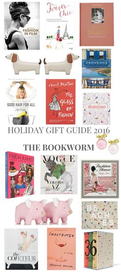 HOLIDAY GIFT GUIDE 2016 THE BOOKWORM // Shoegal Out In The World