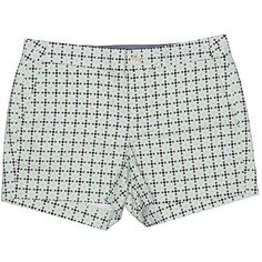 Banana Republic Khaki Shorts ($23) ❤ liked on Polyvore featuring shorts, wild willow, cotton shorts, banana republic shorts, khaki shorts and banana republic