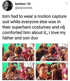 iron dad and spider son, RDJ and tom holland, tony stark and Peter Parker