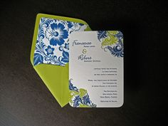 Feathered Flourishes Wedding Suite by dolcepress, via Flickr