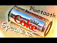 How To Make Coke Can Wireless Bluetooth Speakers ! - YouTube