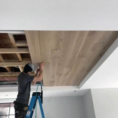 Kitchen Ceiling Design, Ceiling Light Design, Ceiling Ideas, Kitchen Ceilings, Basement Ceilings, Basement Bars, Wood Ceilings, Ceiling Lighting, Basement Ideas