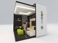 exhibition design on Behance