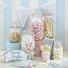candy buffet kit - in vintage stijl voor je bruiloft