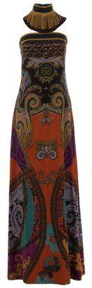 ShopStyle: ETRO - silk printed dress