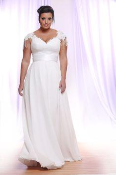 Onze favoriete plus size trouwjurken collecties van het moment - In White