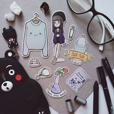drawings and sketches Art Sketches, Art Drawings, Drawing Block, Cute Sticker, Stickers Kawaii, Banners, Doodles, Art Festival, Art Sketchbook