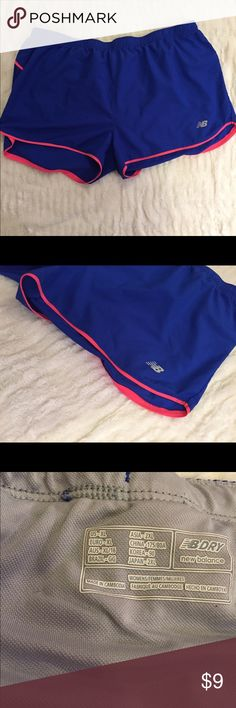 Like New New Balance Blue and Pink Work Out Shorts These Like New New Balance Blue and Pink Work Out Shorts are size XL. They show absolutely no signs of wear, use, stains, or marks! New Balance Shorts