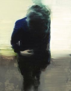 red-lipstick:  Nele Tas (b. 1978, Lokeren, BE) - Concentration Portrait VII, 2010 Paintings: Oil