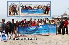 GroupM Interaction at Pulau Sepa - Pulau Seribu | Thousand Islands. #pulauseribu #pulausepa #event #thousandislands