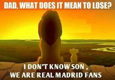 Real Madrid fans. LOOL!  :)