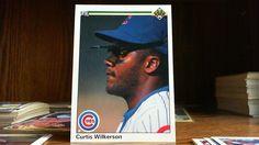 UPPER DECK 1990 CURTIS WILKERSON CARD#147 CUBS.