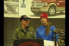 At theIditarodbanquetin Nome Sundaynight, mushers, fansand race officials celebrated the44thrunning of the Last Great Race. Before they announced awards, though, organizers presentedAliyZirkleand Jeff King with a special donation from the community ofNulato.
