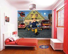 Fireman Sam Boys wallpaper murals for kids bedroom Ireland 2